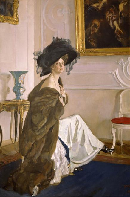 Art Prints of Portrait of Princess Olga Orlova by Valentin Serov
