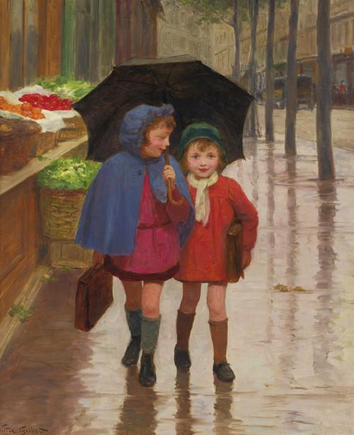 Art Prints of Best Friends by Victor Gabriel Gilbert