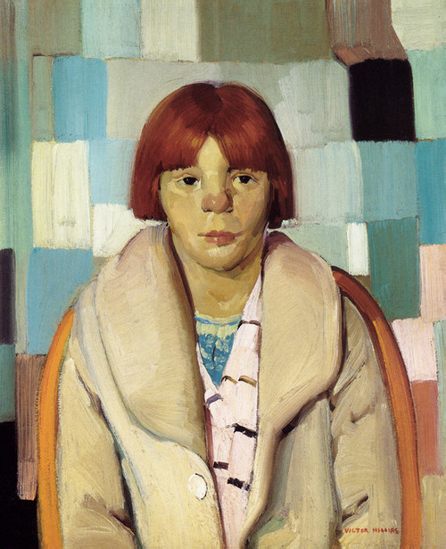 Art Prints of Girl with Sunburned Nose by Victor Higgins
