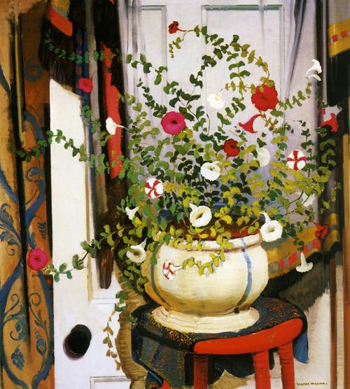 Art Prints of Petunias by Victor Higgins