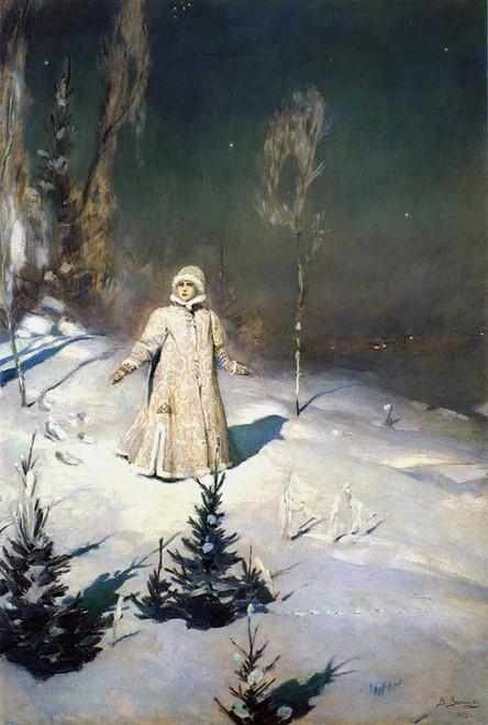 Art Prints of Snow Maiden by Viktor Vasnetsov