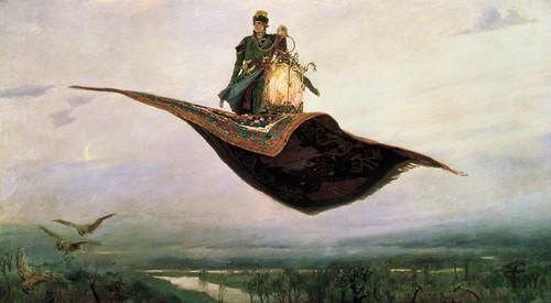 Art Prints of Flying Carpet by Viktor Vasnetsov