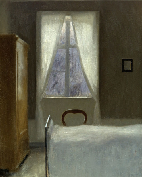 Art Prints of Interior, 1890 by Vilhelm Hammershoi