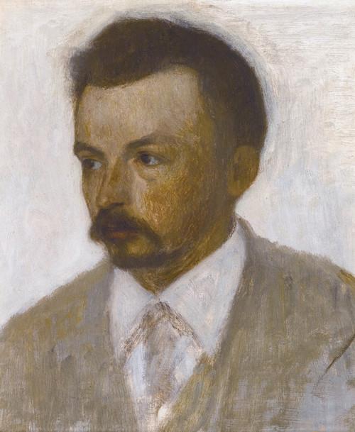 Art Prints of Self Portrait by Vilhelm Hammershoi