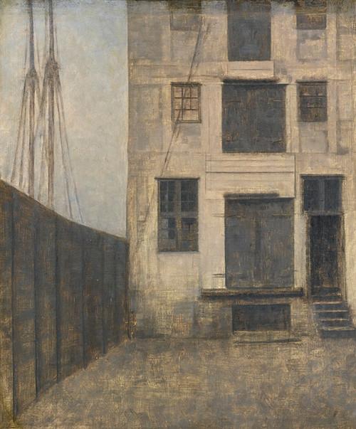 Art Prints of The Old Warehouse in Christianshavn by Vilhelm Hammershoi