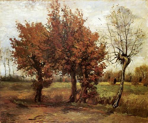 Art Prints of Autumn Landscape by Vincent Van Gogh