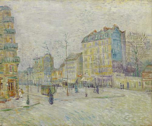 Art Prints of Boulevard de Clichy by Vincent Van Gogh