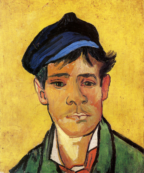 Art Prints of Boy with Cap by Vincent Van Gogh