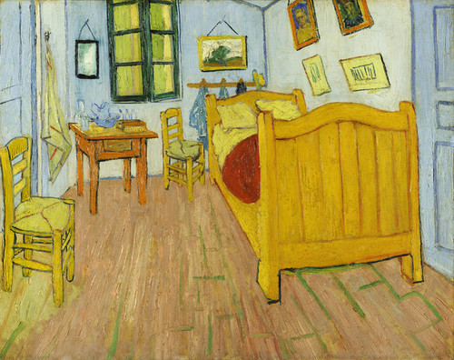 Art Prints of The Bedroom I by Vincent Van Gogh