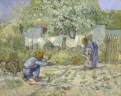 Art Prints of First Steps by Vincent Van Gogh
