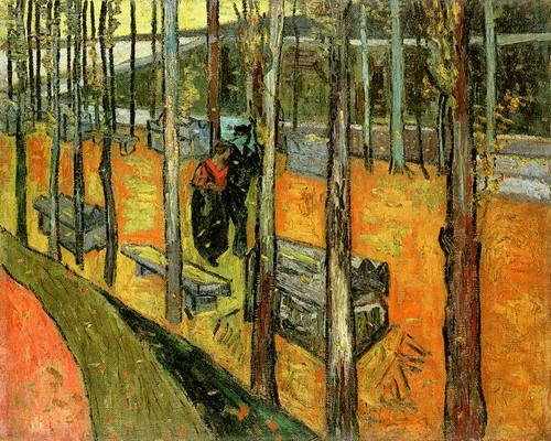 Les_Alyscamps_1888, - Vincent Van Gogh
