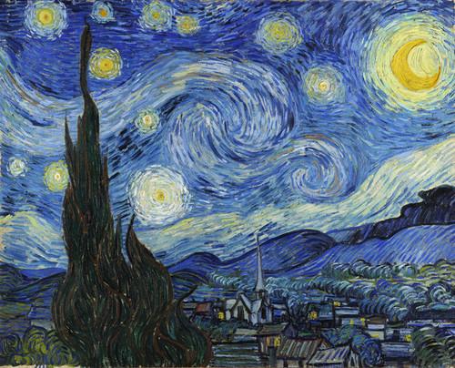 Art Prints of Starry Night by Vincent Van Gogh