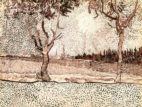 Art Prints of The Road to Tarascon by Vincent Van Gogh