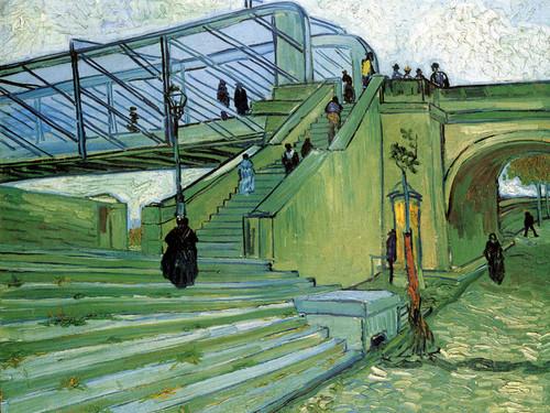 Art Prints of The Trinquetaille Bridge by Vincent Van Gogh