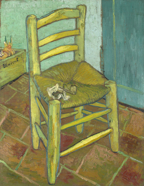 Art Prints of Van Gogh's Chair by Vincent Van Gogh