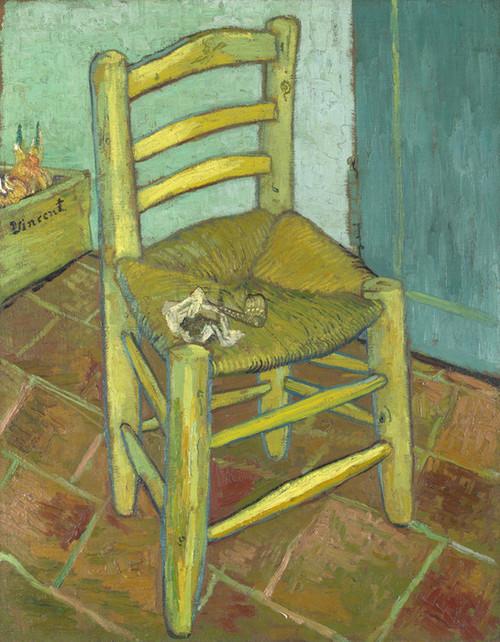 Art Prints of Van Gogh's Chair by Vincent Van Gogh