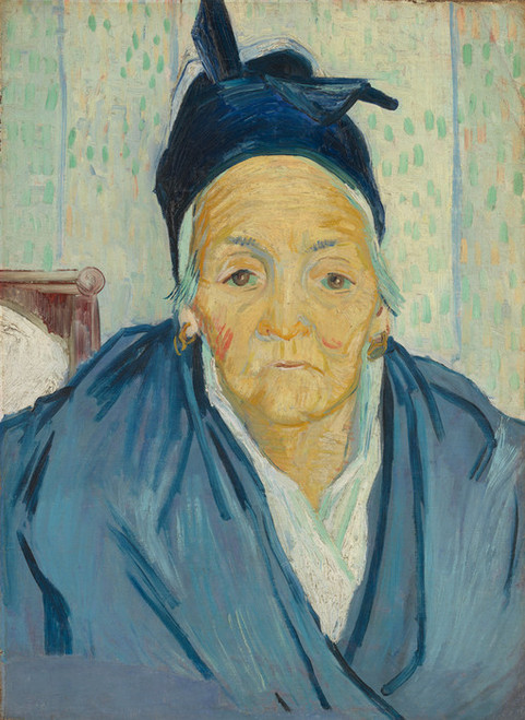 Art Prints of An Old Woman of Arles by Vincent Van Gogh
