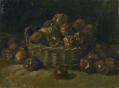 Art Prints of Basket of Apples by Vincent Van Gogh