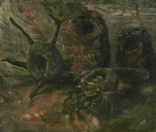 Art Prints of Bird's Nests, 1885 by Vincent Van Gogh