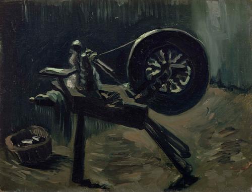 Art Prints of Bobbin Winder by Vincent Van Gogh