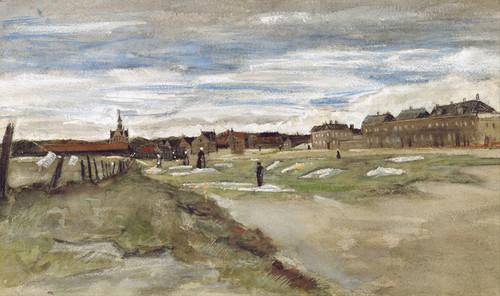 Art Prints of Bleaching Ground at Scheveningen by Vincent Van Gogh