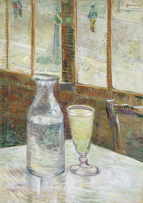 Art Prints of Cafe Table with Absinth by Vincent Van Gogh