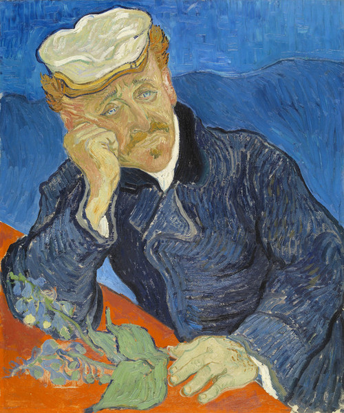 Art Prints of Dr. Paul Gachet by Vincent Van Gogh
