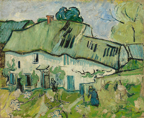 Art Prints of Farmhouse by Vincent Van Gogh