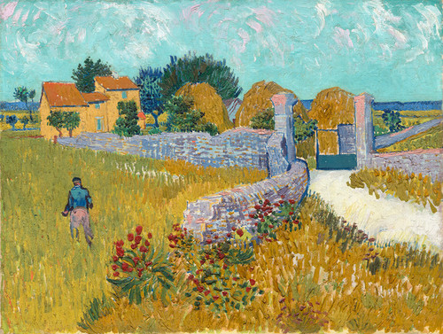 Art Prints of Farmhouse in Provence by Vincent Van Gogh