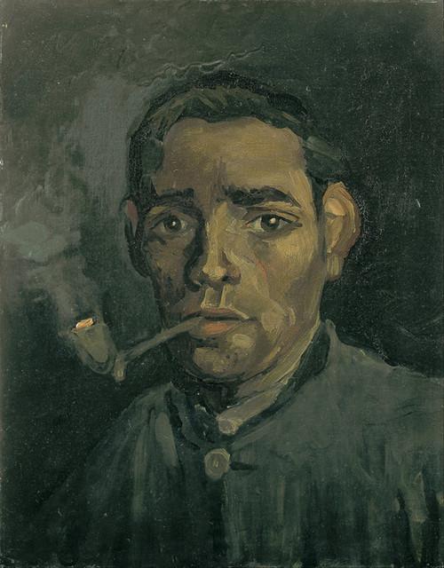 Art Prints of Head of a Man by Vincent Van Gogh