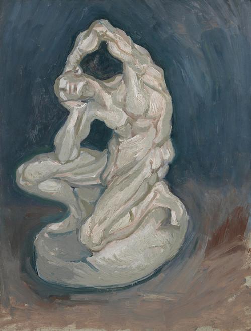 Art Prints of Kneeling Ecorche by Vincent Van Gogh