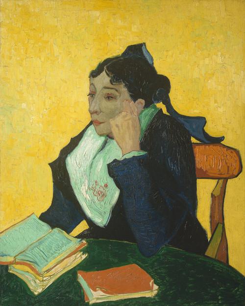 Art Prints of L'Arlesienne Madame Joseph Michel Ginoux by Vincent Van Gogh