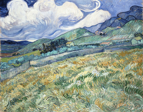 Art Prints of Landscape from Saint Remy by Vincent Van Gogh