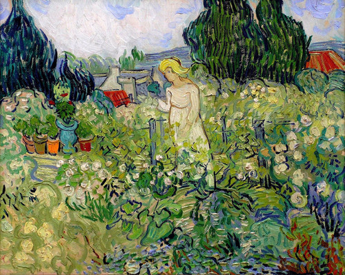 Art Prints of Marguerite Gachet in the Garden, 1890 by Vincent Van Gogh