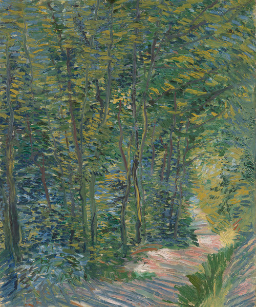Art Prints of Path in the Woods by Vincent Van Gogh