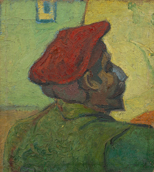 Art Prints of Paul Gauguin or Man in Red Beret by Vincent Van Gogh