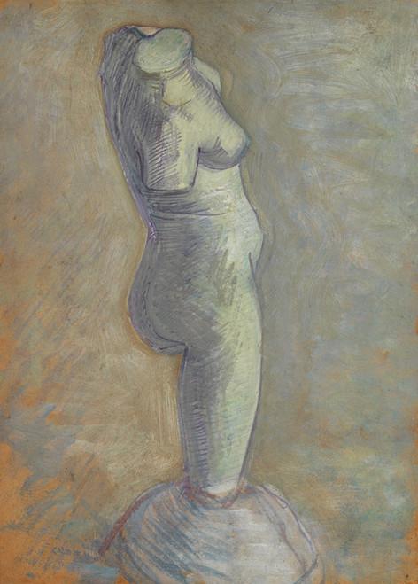 Art Prints of Plaster Cast of a Woman's Torso II by Vincent Van Gogh