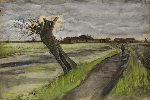 Art Prints of Pollard Willow by Vincent Van Gogh