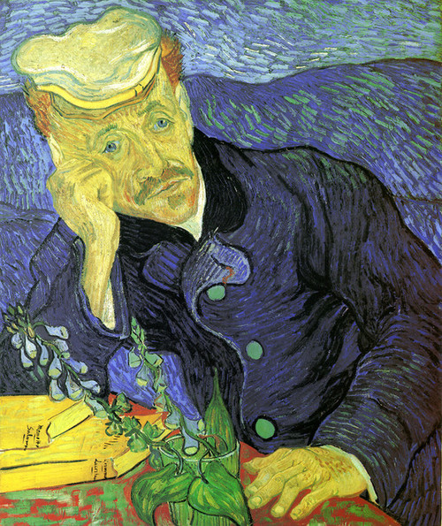 Art Prints of Portrait du Dr. Gachet by Vincent Van Gogh