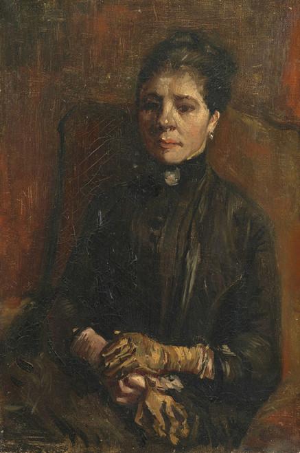 Art Prints of Portrait of a Woman by Vincent Van Gogh