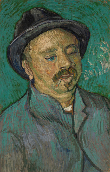Art Prints of Portrait of a One Eyed Man by Vincent Van Gogh