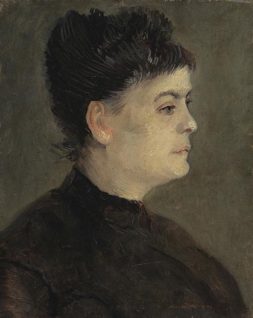 Art Prints of Portrait of Agostina Segatori by Vincent Van Gogh