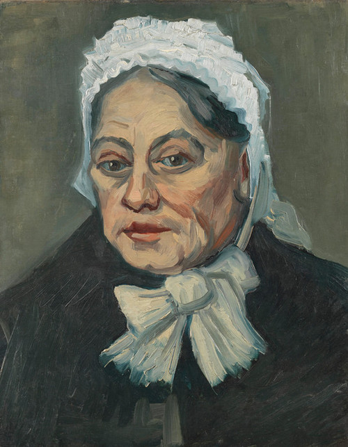 Art Prints of Portrait of an Old Woman by Vincent Van Gogh