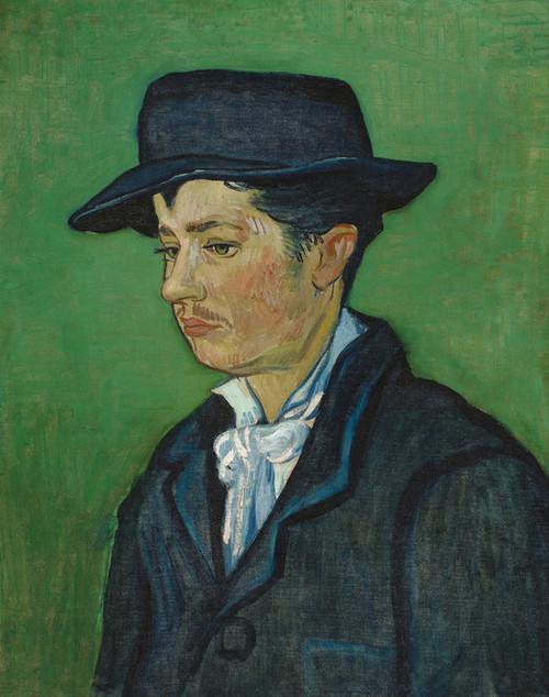 Art Prints of Portrait of Armand Roulin by Vincent Van Gogh