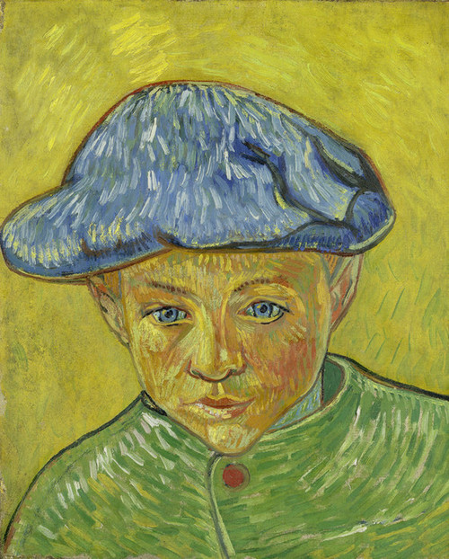 Art Prints of Portrait of Camille Roulin by Vincent Van Gogh