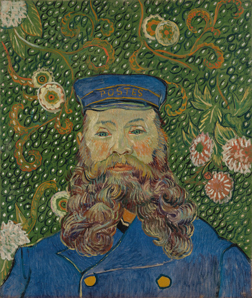 Art Prints of Portrait of Joseph Roulin II by Vincent Van Gogh