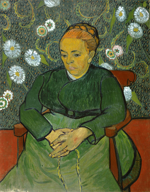 Art Prints of Portrait of Madame Roulin by Vincent Van Gogh
