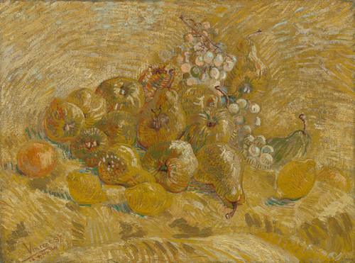 Art Prints of Quinces, Lemons, Pears and Grapes by Vincent Van Gogh
