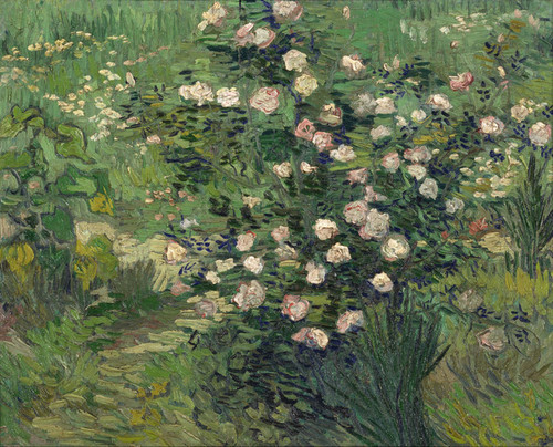 Art Prints of Roses by Vincent Van Gogh