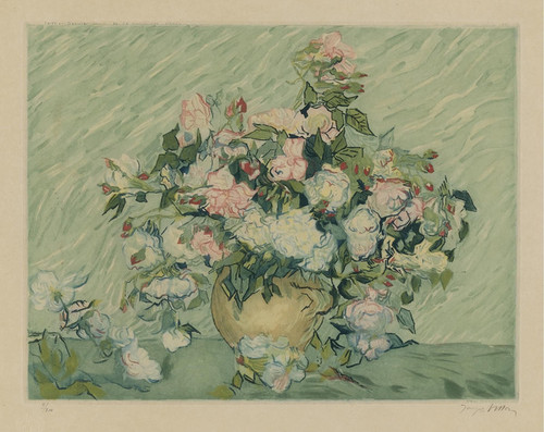 Art Prints of Roses IV by Vincent Van Gogh